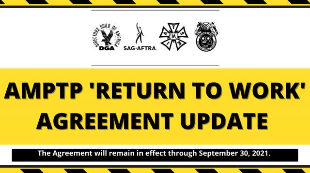 RTW AGREEMENT UPDATE