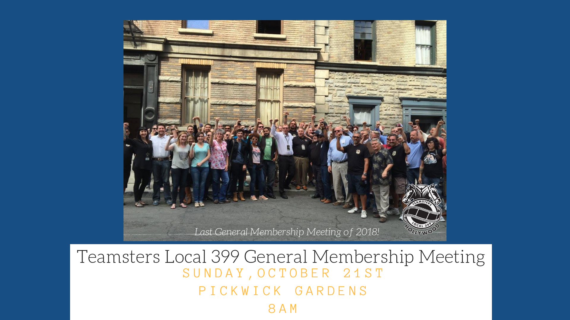 Teamsters Local 399 General Membership Meeting (1)