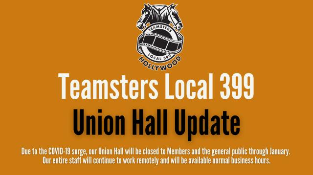 Union Hall Update